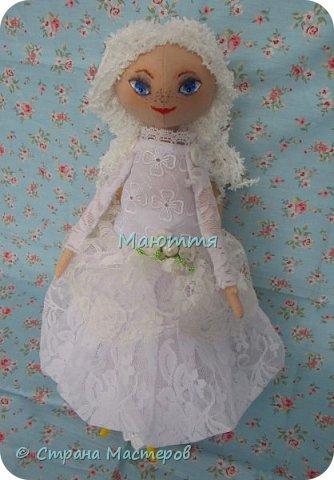 Давненько у меня не появлялись новые куколки.... И вот - знакомьтесь - Голубоглазая Девочка. Имени у нее пока нет, т.к. новая хозяйка сама даст ей имя.   Все подробности ниже. фото 3