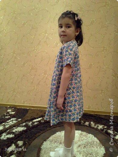 Сшила доче платье) фото 2