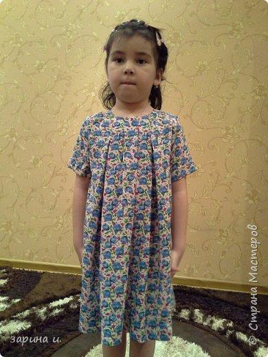 Сшила доче платье) фото 1