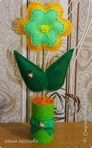Цветочки в горшочке фото 6