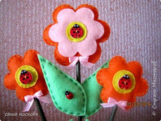 Цветочки в горшочке фото 12