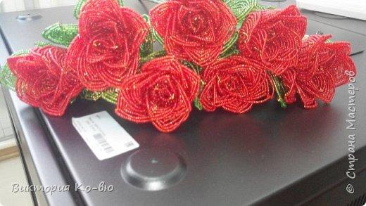 Все это было заказано на 8 марта в качестве подарков Розы плету все по-тому же принципу http://stranamasterov.ru/node/477210 фото 1