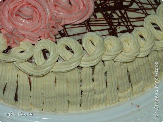 Дча моя любит печь тортики, Этот тортик испекла на 8 марта, завтра с ним к бабушке поедем фото 4