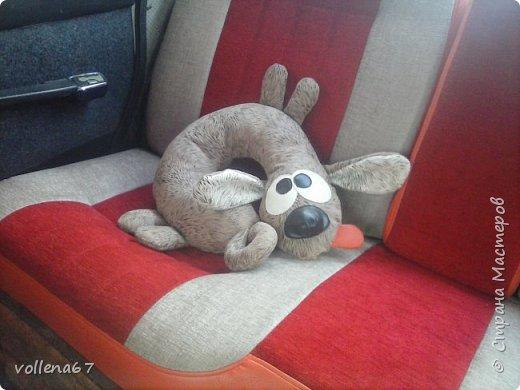 подушка- собака