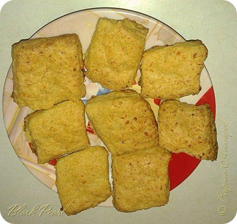 Творожно-сырное печенье без сахара, соли и яиц