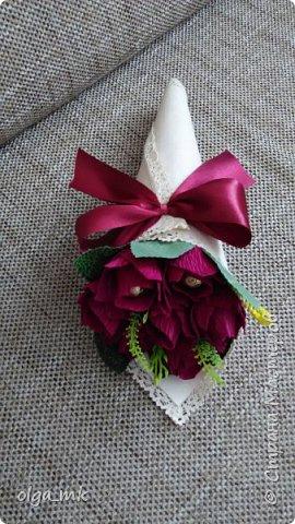 Кулек с конфетками в качестве подарка на 8 марта фото 1