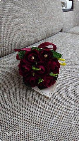 Кулек с конфетками в качестве подарка на 8 марта фото 3