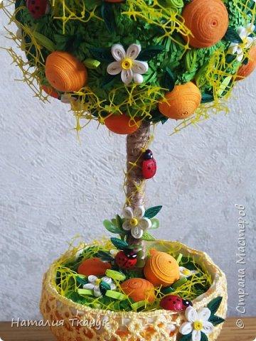 Здравствуйте, дорогие друзья, жители замечательной страны Мастеров!!!! Милые женщины, девушки, девочки!!!!!! От всего сердца хочу поздравить вас с этим прекрасным праздником весны, красоты и любви - с 8-м Марта!!!  Пусть ваша душа до краев наполнится светом, теплом и радостью от искренних пожеланий, нежных цветов, приятных подарков!!! Женщина - это самое прекрасное, что есть в этом мире, поэтому продолжайте и дальше делать его лучшим, принося добро и любовь в этот мир. Побольше улыбайтесь, ведь тем самым вы поднимаете настроение всем вокруг. Будьте всегда счастливыми, довольными, успешными, а главное - любимыми.  К этому чудесному празднику подготовила вот такие подарки!!! Решила сделать топиарии, чтобы они несли счастье и радость в дом!!! Писать много не буду.  Приятного просмотра!!!   фото 15