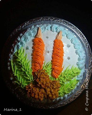 Рождественский тортик фото 1