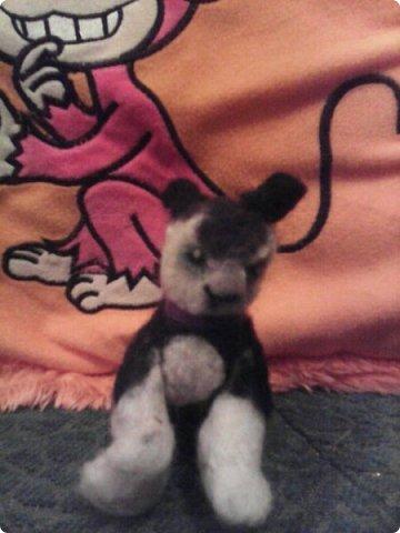 """Это кот из """"Котов Воителей"""" Костяк, который побывал на уроке Общество знания,с сочинением про рукоделие. фото 1"""