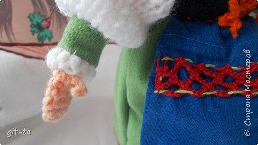 Вот такие куколки связала я недавно. Это  Пастушок и Итальяночка. фото 16