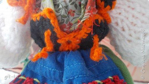 Вот такие куколки связала я недавно. Это  Пастушок и Итальяночка. фото 14