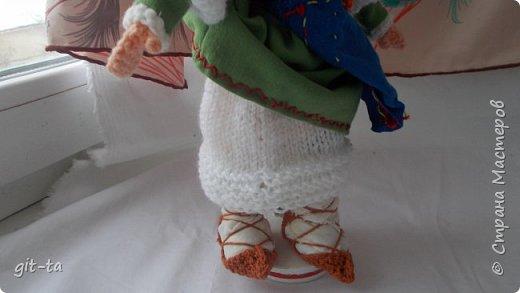 Вот такие куколки связала я недавно. Это  Пастушок и Итальяночка. фото 12