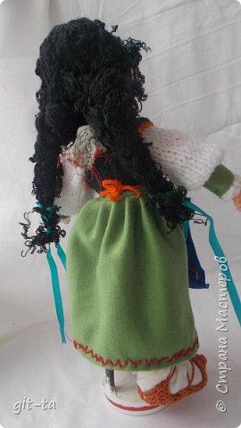 Вот такие куколки связала я недавно. Это  Пастушок и Итальяночка. фото 10