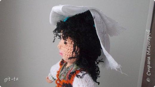 Вот такие куколки связала я недавно. Это  Пастушок и Итальяночка. фото 11