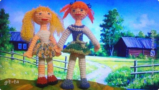 Жили-были две подружки: Танечка и Манечка. Кто из них Танечка, а кто Манечка, я не помню, но...   фото 4