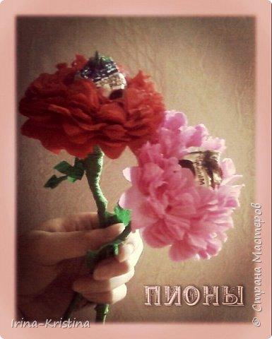 Топиарий с маленькими цветами. фото 5