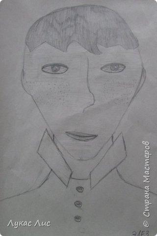 Представляю вашему вниманию рисунок моего кумира это Элез (Он летс-плейщик снимает ролики по ирам Варфейс Проек Армата Бателфилд Хеппи вилс)  фото 1