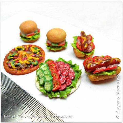 Попросили дети сделать им миниатюрную еду для игры с лего человечками)) фото 2