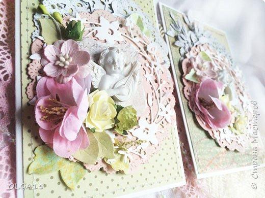 Милые женщины, дорогие рукодельницы, хочу поздравить Вас с праздником  8 марта, пусть он наполнит вашу жизнь любовью, светом,теплом и вдохновением, будьте счастливы! Две открытки в подарок коллегам. фото 4
