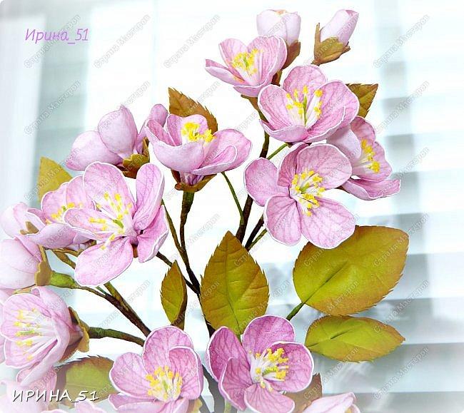 Здравствуйте! Как всегда я с цветами. ))))))   На душу уже весна, и в преддверии международного женского дня спешу поздравить всех милых дам с праздником!  Желаю Вам здоровья, счастья, удачи, творческого вдохновения, душевного тепла и доброты! Пусть у Вас всегда будет хорошее настроение! Мира и добра в вашим семьям!  А теперь приглашаю Вас к просмотру.  Первым покрасуется венок с ранункулюсами из корейского фоамирана. фото 12
