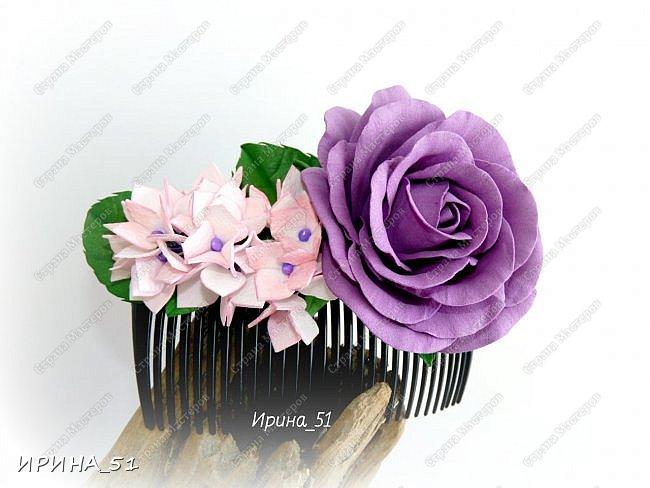 Здравствуйте! Как всегда я с цветами. ))))))   На душу уже весна, и в преддверии международного женского дня спешу поздравить всех милых дам с праздником!  Желаю Вам здоровья, счастья, удачи, творческого вдохновения, душевного тепла и доброты! Пусть у Вас всегда будет хорошее настроение! Мира и добра в вашим семьям!  А теперь приглашаю Вас к просмотру.  Первым покрасуется венок с ранункулюсами из корейского фоамирана. фото 16