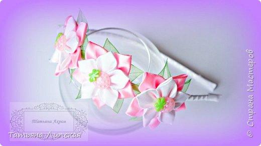 Дорогие девушки! Поздравляю вас с международным женским днем - 8 Марта! Желаю вам крепкого здоровья, счастья, благополучия, любви и всего самого наилучшего! Сегодня я хочу поделиться с вами мастер-классом простых цветов, которые быстро делаются, бюджетны, но в то же время красиво смотрятся. Это были мои любимые цветы, когда я только начала заниматься канзаши и остаются одними из любимых до сих пор. фото 1