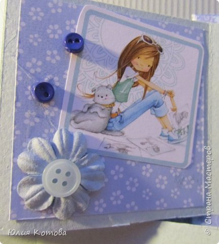 Мини-альбом, поздравительная открытка на день рождение фото 6