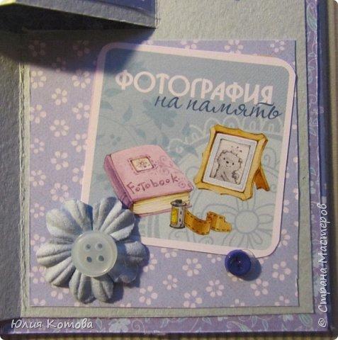 Мини-альбом, поздравительная открытка на день рождение фото 8