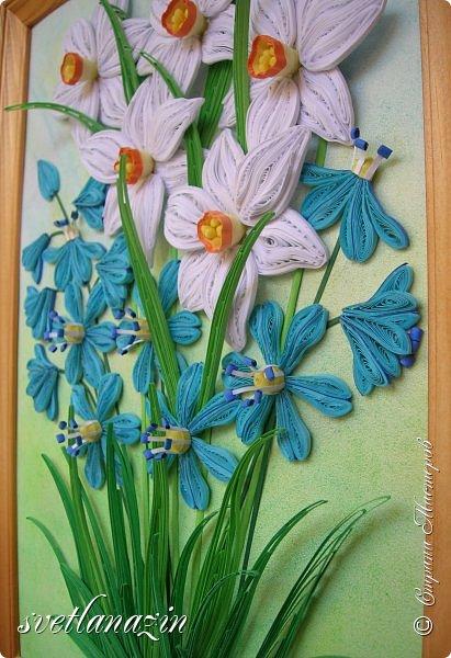 Милые жительницы Страны Мастеров! Позвольте поздравить вас с началом Весны весенней работой. Надеюсь, получилось узнаваемо... фото 3