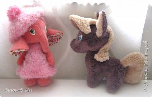 Девочка-слоняшечка родилась в подарок.  Пони по выкройке с зарубежного сайта, там она называется пони-чиби, упрощённый вариант классического пони. фото 11