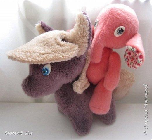 Девочка-слоняшечка родилась в подарок.  Пони по выкройке с зарубежного сайта, там она называется пони-чиби, упрощённый вариант классического пони. фото 7