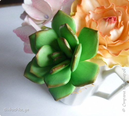Каменная роза из иранского фома. фото 2