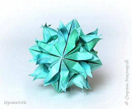 Rain Star МК https://stranamasterov.ru/node/584789 30 модулей 2 х 6 см. Размер около 8 см. фото 7