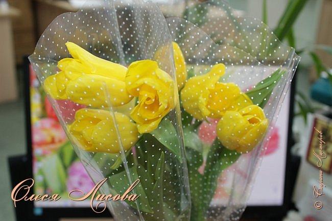 Всех рада видеть в этот весенний день!  Дорогие девочки!  Всех ВАС, от чистого сердца хочу поздравить с одним, из самых прекрасных праздников - 8 МАРТА!  Пусть цветы всегда цветут в Вашей душе, птицы поют и щебечут слова о любви, настроение будет долгим и праздничным, любимые будут рядом и всегда будет крепкое здоровье!!!!  фото 19