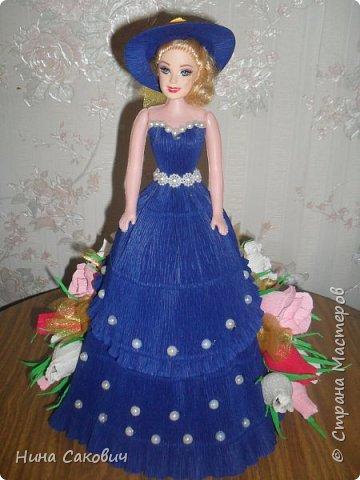 кукла с конфетами фото 2