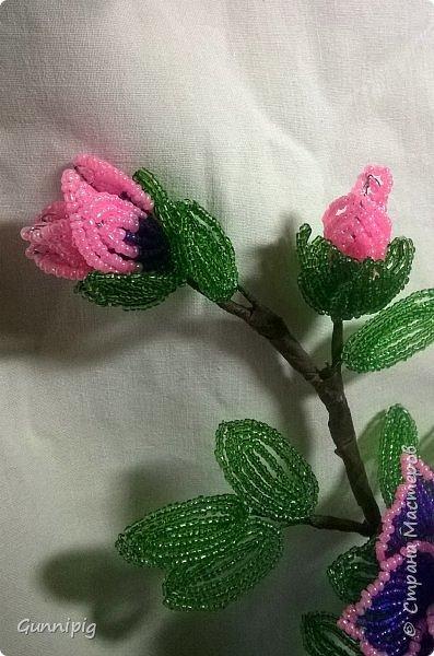 Фиолетовые розочки. Навояла в подарок) фото 7