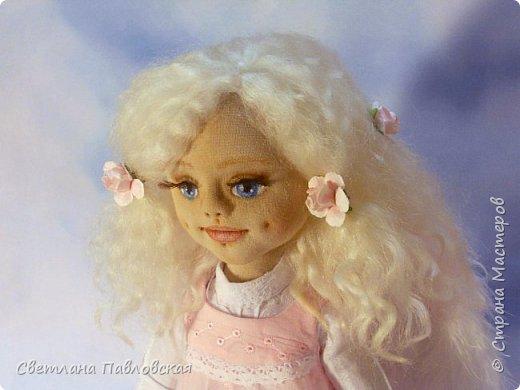Этот нежный ангелочек шился на заказ и родился накануне 8 марта. Поздравляю всех девочек с замечательным праздником весны!!!! фото 3