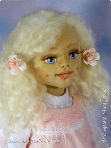 Этот нежный ангелочек шился на заказ и родился накануне 8 марта. Поздравляю всех девочек с замечательным праздником весны!!!! фото 1