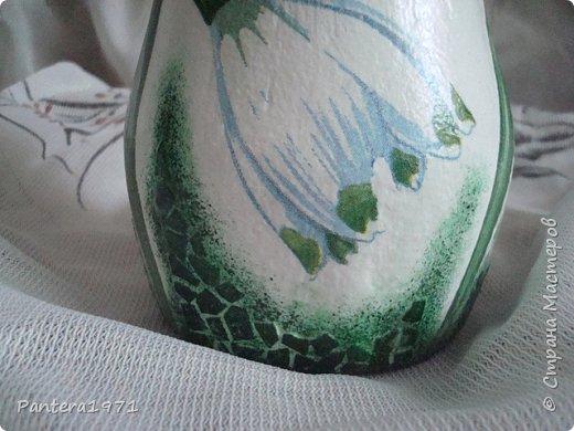 Вот такая ваза получилась из пластиковой 2,5 литровой бутылки... фото 6