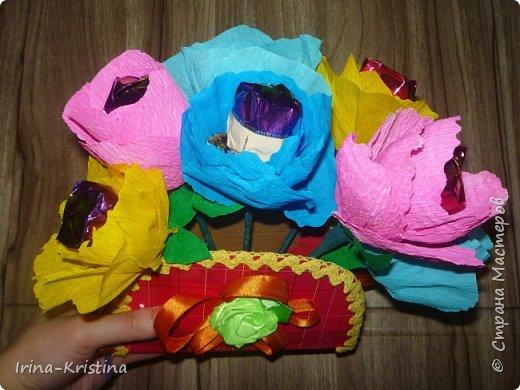 Топиарий с маленькими цветами. фото 6