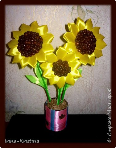 Топиарий с маленькими цветами. фото 9