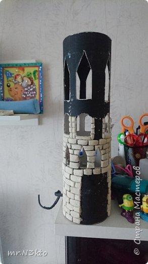 Светильник-ночник из тубуса фото 3