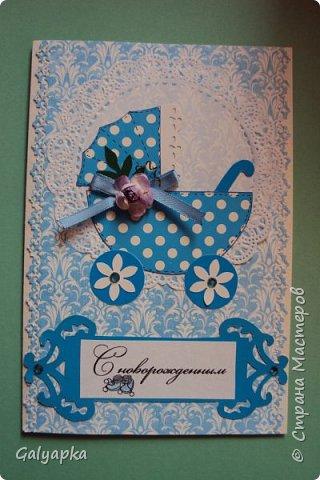 Моя первая открытка была сделана к дню рождения младшей племянницы в феврале 2014г. Идея из инета фото 12