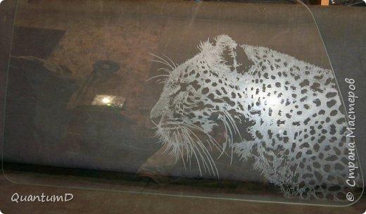 Последние работы, они же эксперименты обработки автомобильного стекла. фото 2