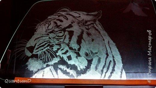 Последние работы, они же эксперименты обработки автомобильного стекла. фото 1