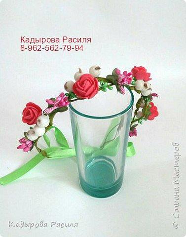 На этот раз весенние веночки и ободочки))) фото 2