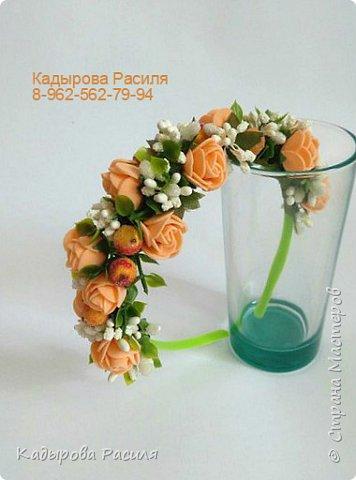 На этот раз весенние веночки и ободочки))) фото 1