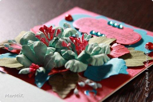 Милые, добрые, очаровательные, женственные и талантливые !!!! Этот букет тюльпанов я дарю всем Вам, жительницы Страны !!!! С праздником !!!  Тюльпаны выполнены из фоамирана. фото 16