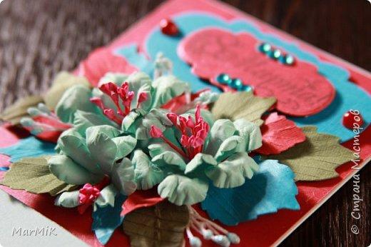 Милые, добрые, очаровательные, женственные и талантливые !!!! Этот букет тюльпанов я дарю всем Вам, жительницы Страны !!!! С праздником !!!  Тюльпаны выполнены из фоамирана. фото 17